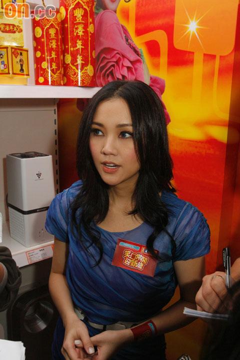 谢安琪强调从未打电话给陈奕迅。