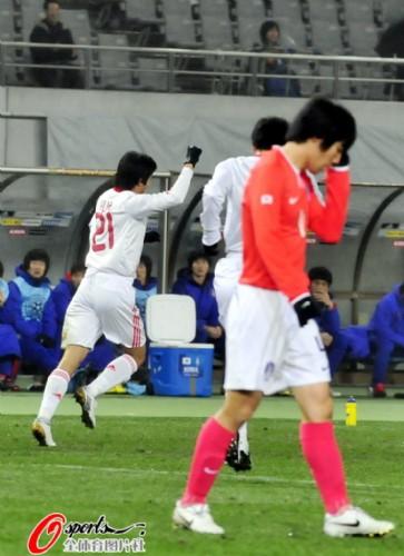 韩国球员也有输不起的一天!