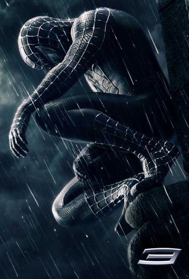《蜘蛛侠3》电影海报-新版 蜘蛛侠 将拍3D版 2012年独立日前上映