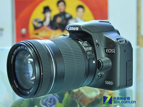 配18-135mm防抖镜头 佳能500D套机新低价