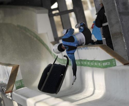 格鲁吉亚雪橇运动员意外身亡