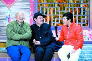 小品《捐助》的人气排名是:王小利(左)、赵本山(中)、小沈阳(右)。图/CFP