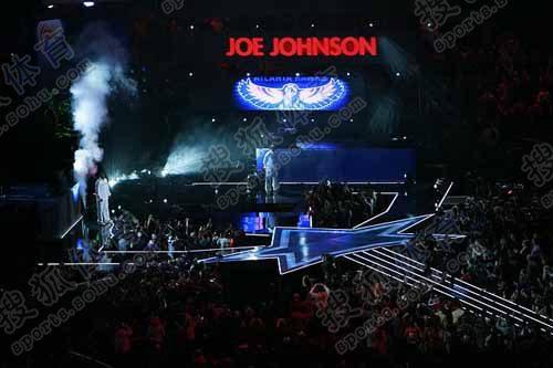 乔约翰逊上场