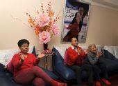 组图:家人全程电视观看申雪夺冠 父母忘情拥抱