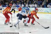 图文:中国女冰1-2负芬兰无缘四强 对方突破