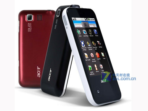 Android 1.5/2.1 Acer发布新机E110/E400