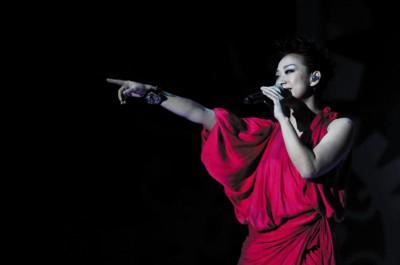 林忆莲上海演唱会现场