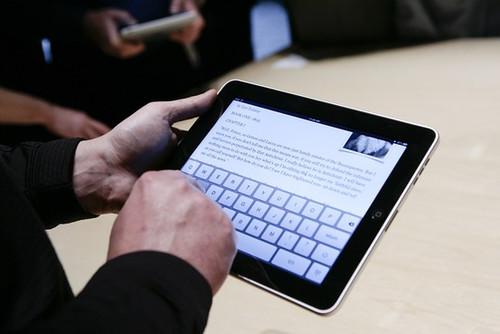 PC厂商备战iPad杀手 触摸平板或迎新春天