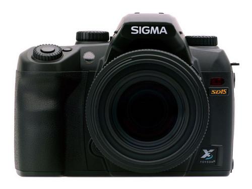 PMA2010:影楼专用 适马SD15单反相机发布