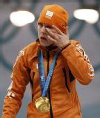 图文:速度滑冰女子1500米 有些热泪盈眶