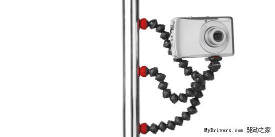 磁性可变形三脚架 让相机变章鱼