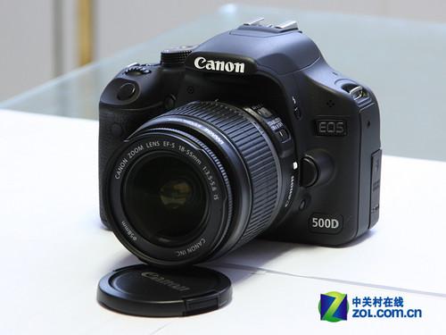 配18-55mmVR镜头 佳能500D低价带票送礼