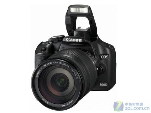 配18-200mm镜头 佳能500D带全套配件促销