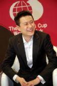 图文:LG杯2-0胜李昌镐夺冠 孔杰夺冠笑逐颜开