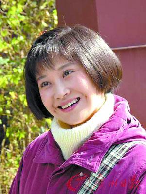 许晴扮演16岁少女童楠楠