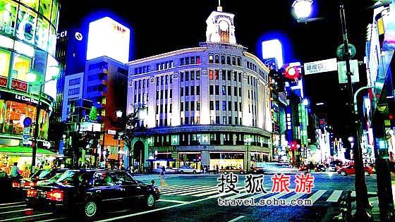 日本大阪:表参道购物