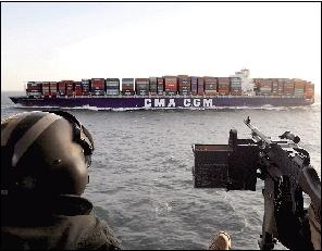 法国达飞海运集团公司货轮的资料照片。
