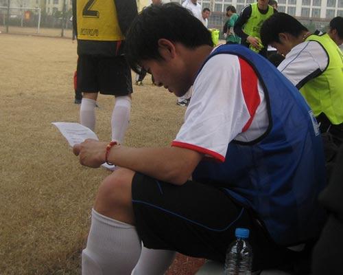 姚翰林阅读江苏球迷来信
