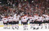 图文:加拿大晋级男子冰球决赛 加拿大赢得胜利