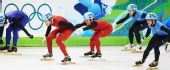图文:中国获男子5000米接力第四 刘显伟马云峰