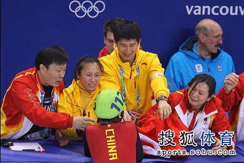 第一战-中国教练组沸腾了