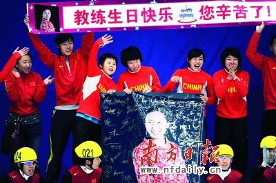"""""""后妈""""李琰,是中国冰雪健儿心中最感激的人。"""