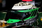 图文:2010赛季前F1试车结束 科瓦莱宁等待出发
