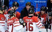 图文:加拿大冰球3-2美国夺冠 加拿大人有策略