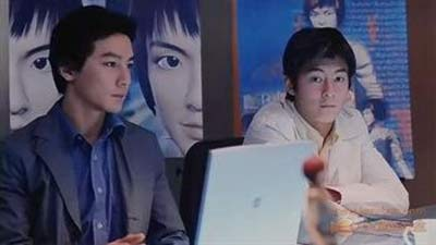 猜一猜图中吴彦祖和陈冠希合作的是哪部片子?