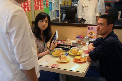 张学友与汤唯为拍新片,曾坐在茶餐厅逾十小时。