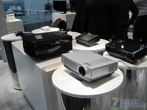 1080p新品亮相 LG投影机CeBIT首曝光