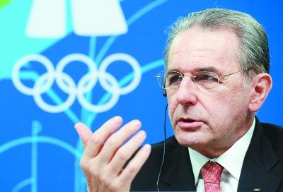 国际奥委会主席罗格回顾:亚洲势力正崛起(图)