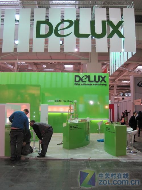绿色主题! 多彩积极布展德国CeBIT2010