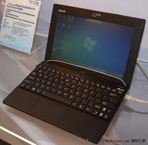 华硕展示五款新一代Eee PC上网本