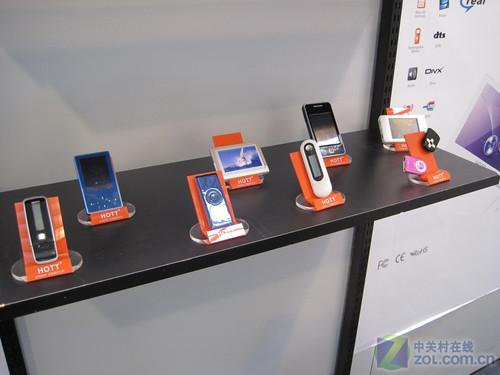 MP3MP4 HOTT全线产品亮相德国CeBIT