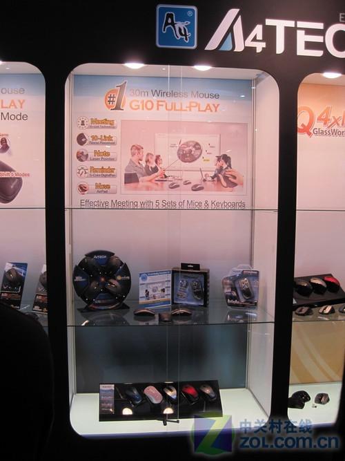 CeBIT2010:双飞燕携新品展台齐曝光
