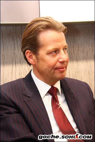 奥迪设计总监史蒂芬-西拉夫