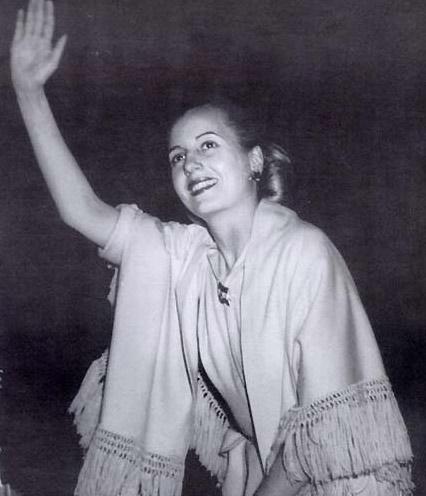 娜在电影《贝隆夫人》中唱出这动人的旋律时,