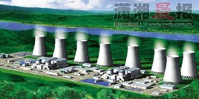 常德核电项目厂址构想图。资料图