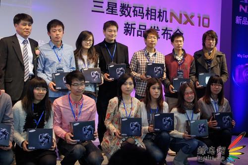 NX10领航!三星春季数码影像新品发布会