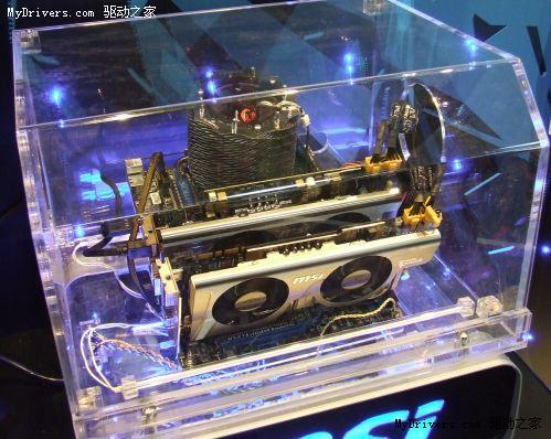微星首款AMD平台A/N显卡混插主板 基于870
