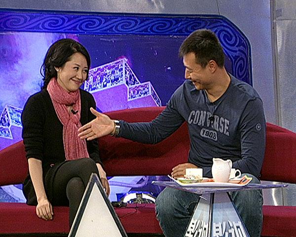 图:众影视明星做客北京电视台《影视风云路》4