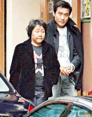 梁家辉与妻子江嘉年