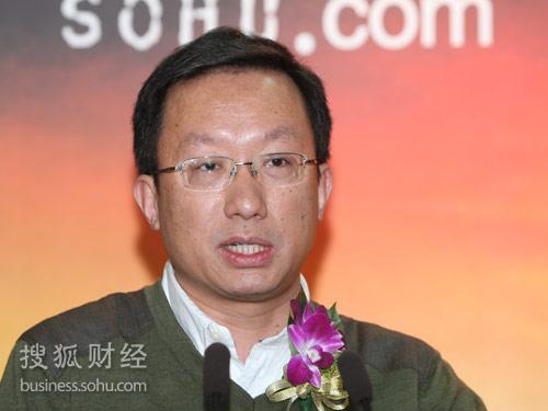 中国社会科学院法学所宪法行政法研究室主任周汉华(摄影:唐怡民)