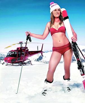 美国高空滑雪选手林德希・沃恩