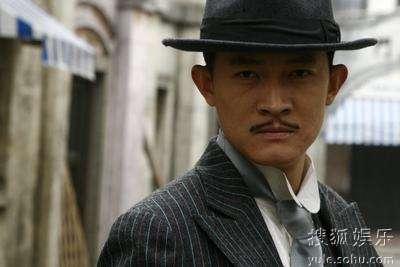 杨志刚《将军》虞小白造型