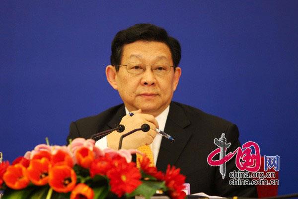 商务部部长陈德铭 中国网 胡迪