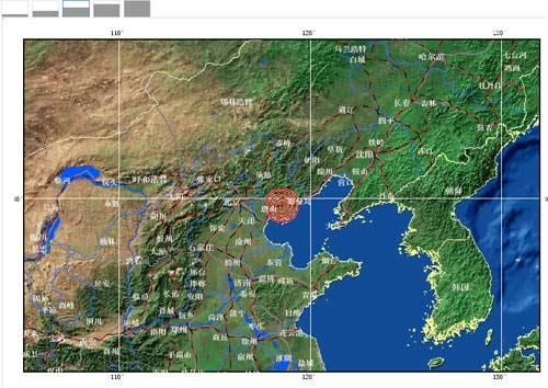 唐山市区地�_河北唐山滦县,唐山市市辖区交界发生4.2级地震
