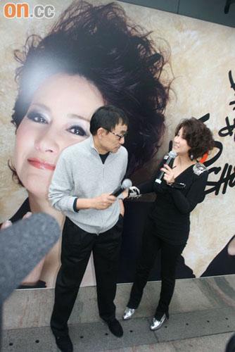 甄妮感谢恩师刘家昌为她担任嘉宾