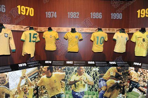 巴西队历史球衣回顾